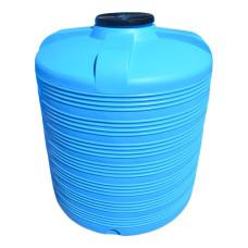 Емкость V 8000 л вертикальная синяя д.2200\2380