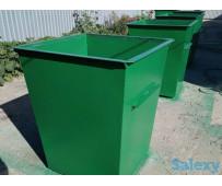 Металлический контейнер для ТБО 750л Открытого типа