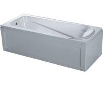 Ванна акрил  KO&PO 4040 150*70*40 с каркасом и панелью (ножки 150*70*52)