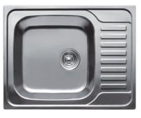 HB S4858 Мойка кухонная с крылом матовая