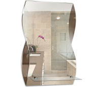 АКВА зеркало (395х600) (Серебряные зеркала)
